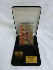 Michael Jordan Chicago Bulls Highland Mint Bronze Mini Card MVP Die Cut Set