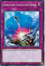 YU-GI-OH CARD: COMPULSORY EVACUATION DEVICE - YS17-EN038 - 1st EDITION