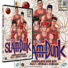 SLAM DUNK Complete VOL 1-101 End +4 MOVIE BOX SET DVD ANIME