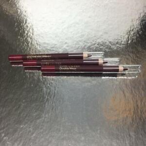 Lot 3 X New Estee Lauder Double Wear Stay-In-Place Lip Pencil in 14 Wine
