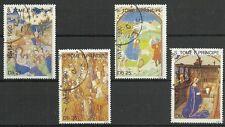 WEIHNACHTEN 1990/ S.Tome+Princ. MiNr 1199/1202 o