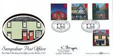 1997 Benham bureaux de poste signé par Ken Thompson Sub Post Master de Sanquhar Po