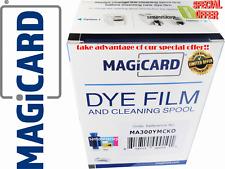 Authentic Ribbon Magicard Dye Film MA300YMCKO For ID Card Printer Magicard