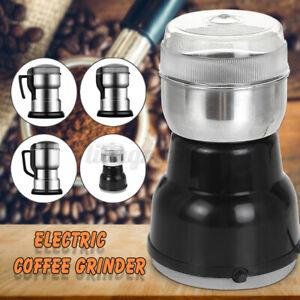 400W Electric Coffee Grinder Grinding Milling Bean Nut Spice Matte Blender