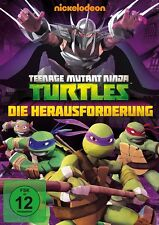 TEENAGE MUTANT NINJA TURTLES: S1 V2 DIE HERAUSFORDERUNG   DVD NEU