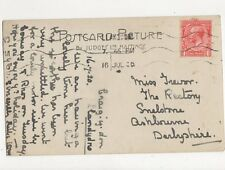 Miss Trevor The Rectory Snelstone Ashbourne Derbyshire 1920 282a