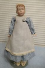 """Vintage 1978 Bisque and Soft Body 13"""" Doll"""