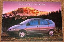 1997 RENAULT MEGANE SCENIC Sales Brochure - RN RT RXE