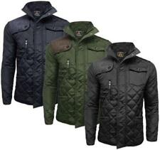 Soul Star Collared Quilted Coats & Jackets for Men