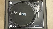 stanton t50 turn tableS with cases