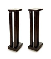 Hi Fi Racks Podium Slimline Speaker Stands 600mm Satin Black (Pair)
