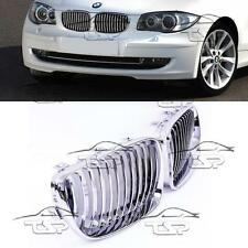 FRONT GRILLS CHROME FOR BMW E81 E82 E87 E88 07-11 LCI SERIES 1 SPOILER BODY KIT