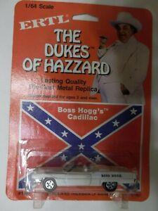 ERTL 1567 The Dukes of Hazzard - Boss Hogg Cadillac - 1/64 Scale - NEW from 1981