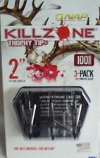 NAP KILLZONE Trophy Tip -100 Grain Expandable Broadhead #- 60-997