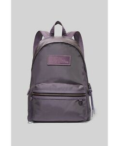 NWT $195 Marc Jacobs The Backpack Medium Nylon Lightweight Bell Flower Purple