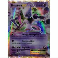 Mewtwo EX 52/108 Ultra Rare Pokemon Englisch NM/Mint