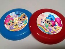 12 SHIMMER AND SHINE mini frisbees birthday party favor, treat bags, prizes LOOT