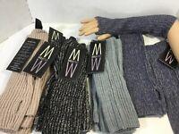 MarlaWynne Fingerless Gloves Wrist Arm Hand Long Knitted Winter Choice of Pair