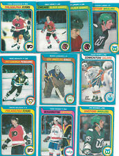 79-80 OPC  LOT OF 10 ROOKIE CARDS