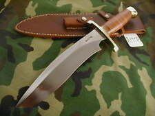 "RANDALL KNIFE KNIVES #12-11""LG.SASQUATCH,#794,BLH,BL.-B.S,LEATHER,BCBB,WT #A1958"
