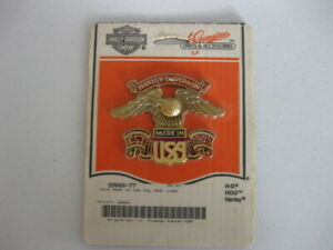 Harley Davidson BACK REST Eagle Medallion Badge Emblem # 99000-77 OEM NEW