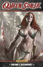 Queen Sonja Vol 5 ASCENDANCY - NEW - Conan Hyborian Age Red Sonja - ALL OUT WAR