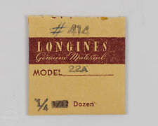 Longines Genuine Material Part #414 Stop Click Spring for 22A