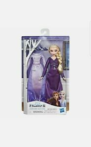 Disney Hasbro Frozen Two Arendelle Fashions Elsa Doll & Complete Extra Outfit