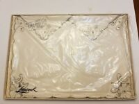 VINTAGE 4 Cream PLACEMATS & NAPKINS by LEACOCK  Never used