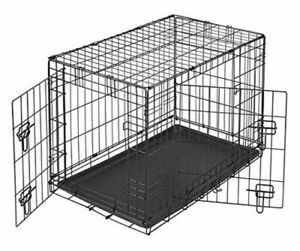 PetFace Dog Crate / Small Metal Dog Cage Fence Exercise Enclosure Cage
