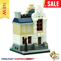 New MOC Mini Modular Townhouse MOC-10740 Building Blocks Toys