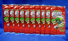 NEW ~100 Pack Lot ~ Mighty Beanz Moon Quest Sealed 9 Card Booster Pack