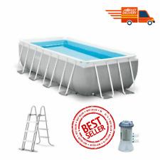 INTEX Pool Prism Frame 400 x 200 x 100 cm ✅ LIVRAISON EXPRESS