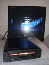 Nice Commodore Amiga CDTV black Floppy CD-1411 tested