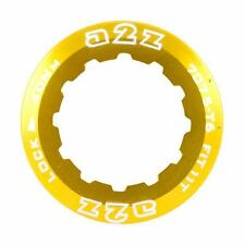 A2Z Lockring for SRAM or Shimano Cassette 11t Small Ring - Gold