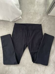 Diesel Super Skinny Navy Chino Trousers Size W30 L30