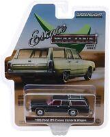 1986 Ford Crown Victoria - Heckklappe öffnet ** Greenlight Estate Wagon 1:64 OVP