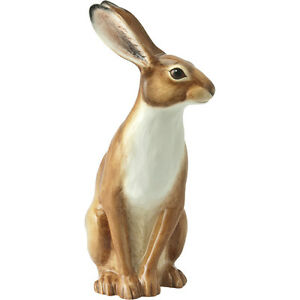 John Beswick Hare Figurine Countryside Collection Ceramic Hand Painted 12.8cm