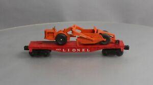 Lionel 6817 Vintage O Flatcar w/ Scraper