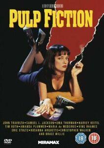 PULP FICTION DVD (REGION 2) VGC, FREE POST