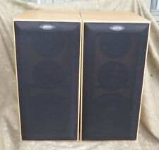2 JAMO E410 HIFI STEREO SPEAKERS 50 W DENMARK MINT CONDITION