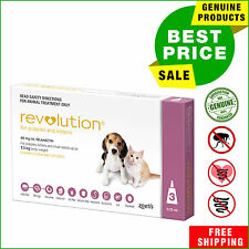 REVOLUTION 3 Pipettes Pink Pack for Kittens and Puppies Upto 2.5 Kg by Zoetis