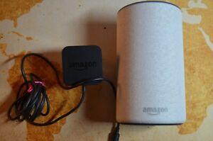 Amazon Echo Smart Assistant - Heather Grey Fabric - MINT
