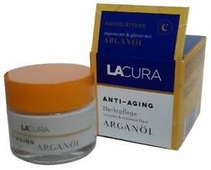 Lacura Anti-Aging Nachtpflege mit Arganöl 50ml