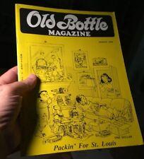 Old Bottle Magazine August 1976