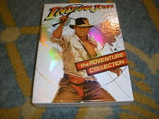 DVD Indiana Jones -The Adventure Collection (DVD, 2008) 3 DISC BOX SET **ACTION*