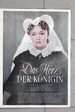 20382 FILM PLAKAT Das Herz der Königin 1939 Zarah Leander