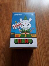 Kidrobot Dunny Grumpy Elf By Kozik - Santa Unfair Elves Of The Pole