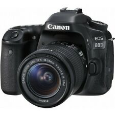 Canon EOS 80D 24.2 MP DSLR Camera - Includes 18-55 mm lense andaccessories