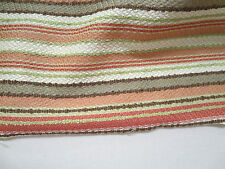 Eastern Accents Fabrics Pattern Cattleya Coral 130 In x 21 In Stripe Texture